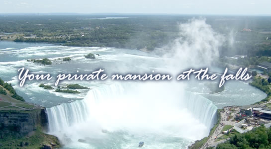Your private manshion at the falls